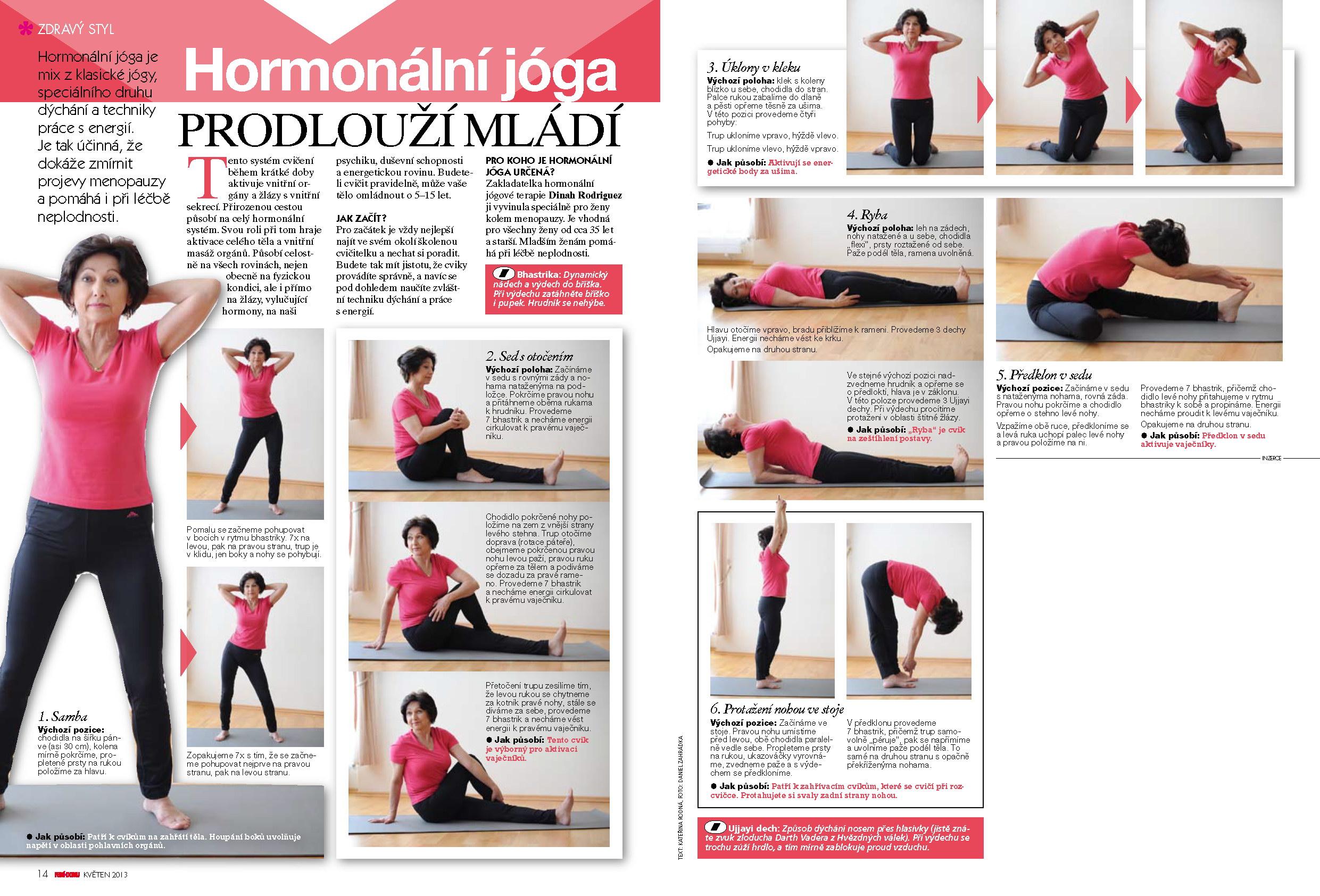 hormonální jóga praha